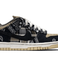 "Travis Scott Shock Drops Nike SB Dunk Low ""Cactus Jack"" And Skate Swag"